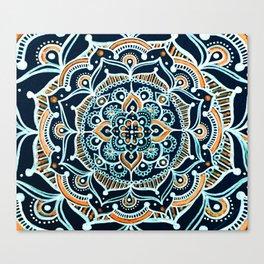 Bohemian Zen Mandala Canvas Print