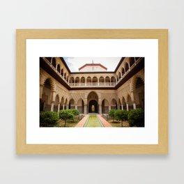 Alcazar de Sevilla Framed Art Print