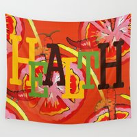 health Wall Tapestries featuring Health by Sartoris ART