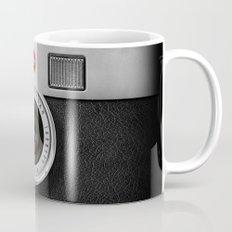 classic retro Black silver Leather vintage camera iPhone 4 4s 5 5c, ipod, ipad case Mug