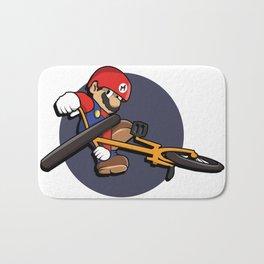 Mario, BMX Tail Whip Bath Mat