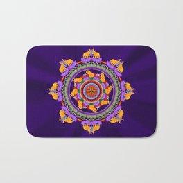 The Lu Mandala; Prosperity & Success Bath Mat