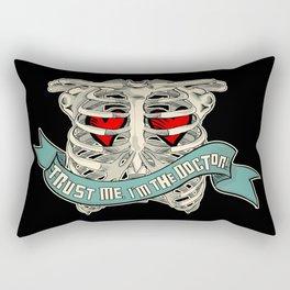 trust me!! Rectangular Pillow