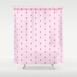 Uteri, Period. In pink Shower Curtain