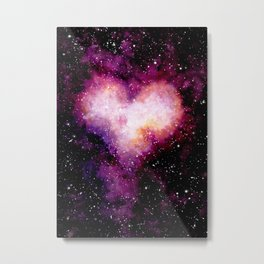 Heart Galaxy 05 Metal Print