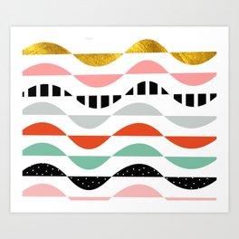 wonders of fall Art Print