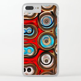 Shapes of Color Clear iPhone Case