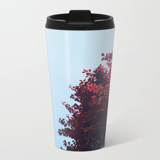 Dear red tree Metal Travel Mug