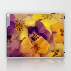 Viola bed. Laptop & iPad Skin