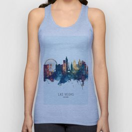 Las Vegas Nevada Skyline Unisex Tank Top