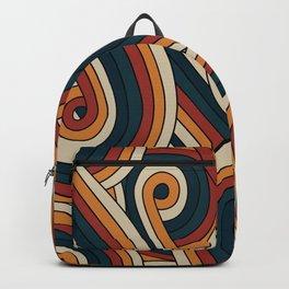 Vintage Doodle Swirls Backpack