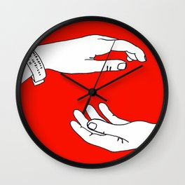 The Antlers - Hospice Wall Clock