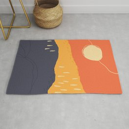 Sunrise Mountain Rug