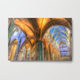 The Cathedral Atmosphere Metal Print