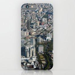 megalopolis Mexico City Houses Cities Megapolis Building iPhone Case