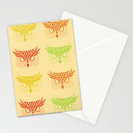 Owl Tribe Stationery Cards