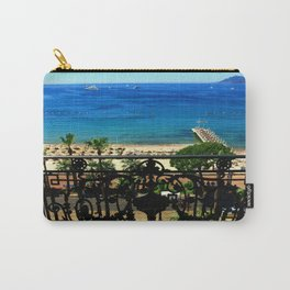 Carlton Hotel Cannes Carry-All Pouch