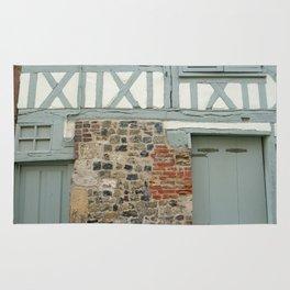 Half Timber House Rug