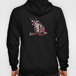 Native American Bird - Spiritual Indian Eagle Gift Hoody