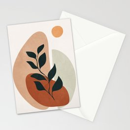 Soft Shapes II Stationery Cards