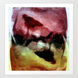 Abstract Terror III Art Print