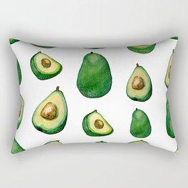 avacado white Rectangular Pillow