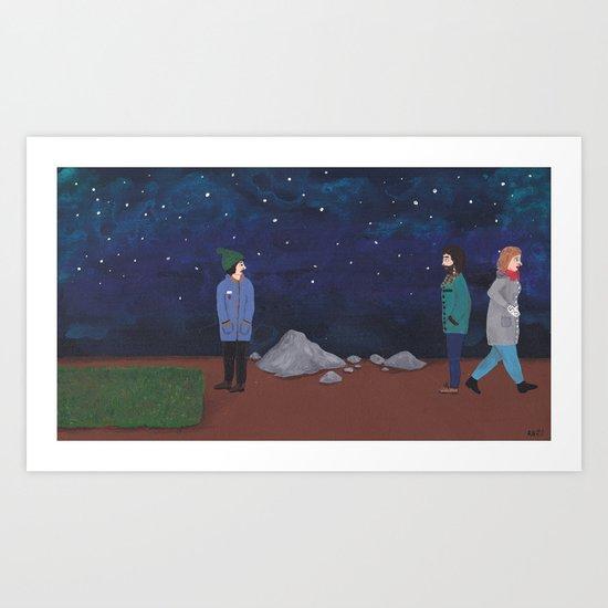 The Green Path Art Print