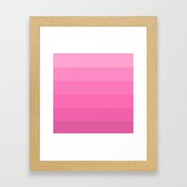 Pink Ombré 1 Framed Art Print