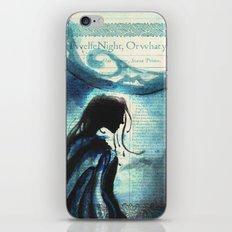 Twelfth Night Viola iPhone & iPod Skin