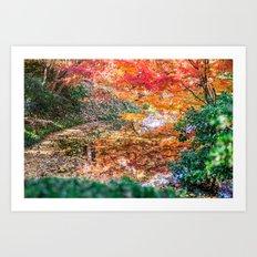 Fall Dreamland Art Print