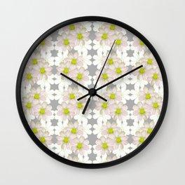 Tulip_South Africa_White Kosmos Wall Clock