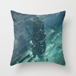 The Last Bastion Throw Pillow