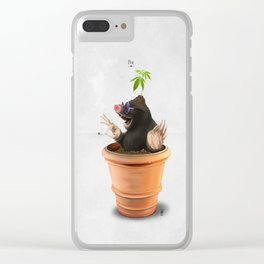 Pot Clear iPhone Case