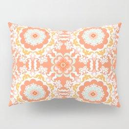 Indigo & Papaya Pattern 09 Pillow Sham