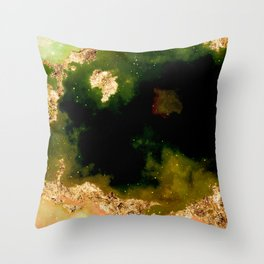 100 Starry Nebulas in Space 013 (Portrait) Throw Pillow
