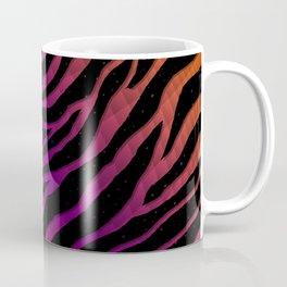 Ripped SpaceTime Stripes - Orange/Purple Coffee Mug
