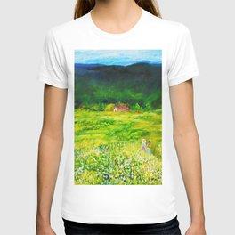 A Summer Walk In The Field T-shirt