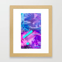 Cat Reflections Bootylicious Framed Art Print