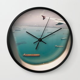 Shipping Paradise Wall Clock