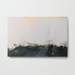 abstract smoke wall painting Metal Print