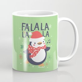 Fa la la penguin Coffee Mug