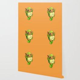 TMNT_POKET_MONSTER_orange Wallpaper