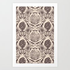 Forest Pattern Art Print