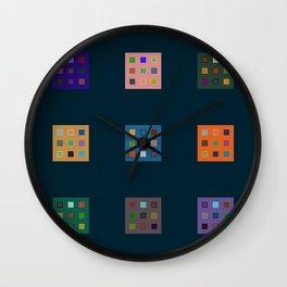 Nine Wall Clock