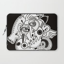Angel With The Black Hat Laptop Sleeve