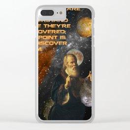 Galilean Truths Clear iPhone Case