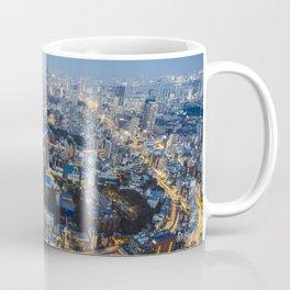 Tokyo skyline at sunset Coffee Mug