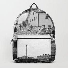 Italian mountain village Backpack