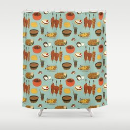 Delights of Brazil Shower Curtain