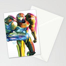 Samus - Metroid  Stationery Cards